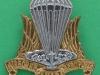 Canadian Airborne Regiment cap badge 1968-1995. 18 liner. Scully slider 40x39 mm.