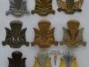 Canadian Airborne troops cap badges 1942-1995.