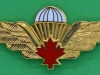 Canadian Parachute wing Master. Scully 63 mm.