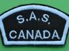 Canadian SAS shoulder patch 70 x 40mm