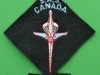 Canadian SAS training suit patch 80 x 80mm