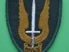 Canadian Special Service Force combat uniform cloth patch 65x80 mm.