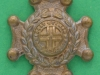 CW215. The Royal Sussex Regiment. Collar badge 25x32 mm.