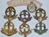 Middlesex Regiment badges, reverse.