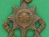 KK 646. Royal Sussex Regiment. All brass 1916. Lugs 36x41 mm.
