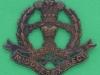 KK 672. Middlesex Regiment officers, bronce badge. Gaunt lugs. 47x41 mm.