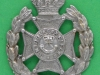North Middlesex Rifles, field Service cap badge. Lugs 37x30  mm.