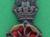 CW231. Loyal Regiment, North Lancashire, officers collar badge. 16x32 mm.