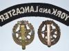 The York and Lancaster Regiment badges reverse.