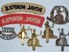 The Norfolk Regiment badges reverse.