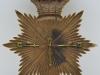 2nd Battalion the Somerset Regiment Bell toppet chako badge. 110x133 mm. Four part badge. Back side. For sale 500£