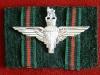 GIPC cap badge on Brgade of Gurkhas badge backing