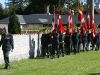 The Colour Guards departing