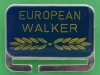 European Walker. 8 Countries walk in Europe. 2011 Israel Gilboa.