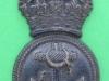 KK 1159. Royal Naval Division, Petty Officers cap badge Lugs 36x67 mm.