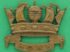 KK 1164. 6th Howe Battalion, Royal Naval Division. Disc Gaunt lugs 33x38 mm. Admiral Howe 1726-1799.