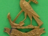 KK 1165. 7th Hood Battalion, Royal Naval Division. Disc Gaunt lugs 33x40 mm. The crest of admiral Hood 1724-1816.