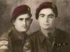 Sgt Dankha Yaco and Sgt, later RAB 50 Awia Yacoub Two Levies para wearing the circle badge