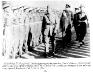 King Faisal II inspecting an Assyrian Guard of Honor