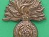 KK 1818. 1st-4th City of London Battalions The Royal Fusiliers. Slider 42x53 mm.