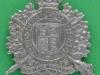 KK 1819.  5 th City of London Battalion The London Rifle Brigade. Slider 40x49 mm.