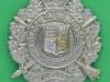 KK 1820.  5 th City of London Battalion The London Rifle Brigade. lugs 36x45 mm. Buet