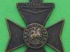 KK 1828. 9th Battalion the  London Regiment. Queen Victoria Rifles. Solid 40x55 mm.