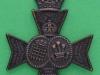 KK 1846. 16th Battalion the London Regiment, Queens Westminster & Civil Service Rifles.  Slide 40x54 mm.