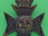 KK 2417. 12th London Regiment The Rangers 1938, Someone had carefully removed the scroll RANGER. Slider 36x47 mm.