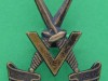 KK 2072. Victor (V) Force 1942, mainly Assam Rifles men. Slide pressed 28x34 mm.