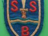 Special Boat Squadron 1942 (Army Commando) cloth beret badge. 46x63 mm