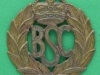 British Security Co-Ordination cap badge 1940-1945. W Scully Montreal. Lugs 42x46 mm.