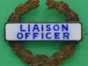 Liaison Officer, ww2 period badge, unknown unit, 40 x 37mm (1)