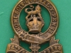 CW39. 14th/20th King`s Hussars collar badge. 24x27 mm.