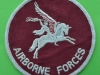 Airborne Forces. Patch for sportswear. 100 mm.