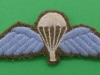 PT124, Parachute Qualification Wing ww2 issue, 85 x 31mm