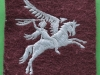 British Army Airborne Patch 1st And 6th Airborne Division Pegasus Patch 60 mm.