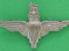CW275. Parachute Regiment collar badge left. 40x24 mm.