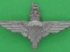 KK 2263. The Parachute Regiment 1944 plastic cap badge. 66x38 mm.