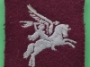 PT138. Pegasus Patch ww2 issue. 65x72 mm.