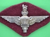 PT150. India Parachute Regiment 1943. Long lugs  68x40 mm. Unmarked silver-