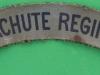 The Parachute Regiment. Canvas shoulder title. 125x22 mm.