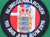 Nijmegen 100 anniversary patch Danish Delegation