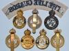 The Life Guards cap badges Reverse.