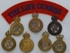 The Life Guards cap badges.