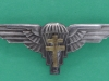 Free French Airborne Parachute Battalion beret badge. 69 x 25mm
