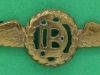 RAF Dental Branch collar badge. 39x14 mm.
