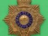 KK 1099. Royal Marine officers helmet plate 1905. 73x86 mm.