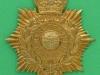 KK 2097. Royal Marine Band helmet plate. 73x82 mm.