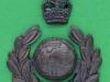 KK 2099. Royal Marines Warrant officer two part cap badge. 39x52 mm.